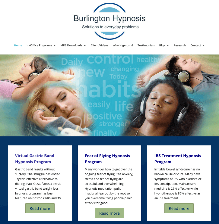 burlington hypnosis website
