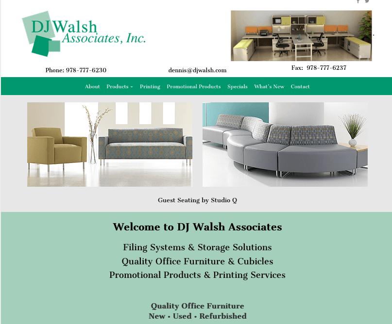 dj walsh office furniture website