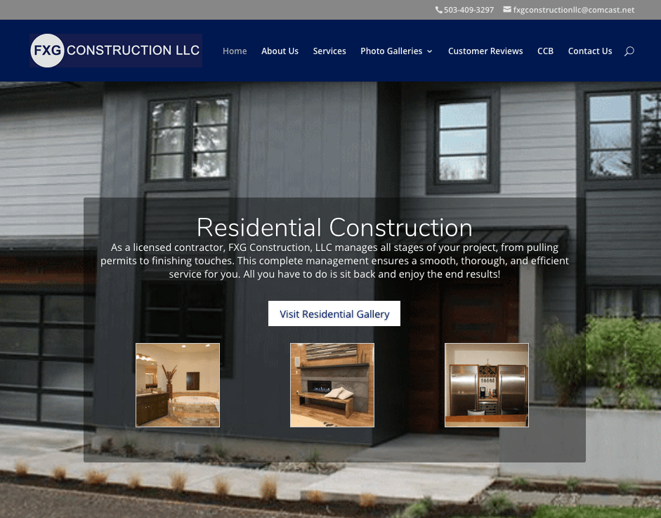 fxg construction llc website