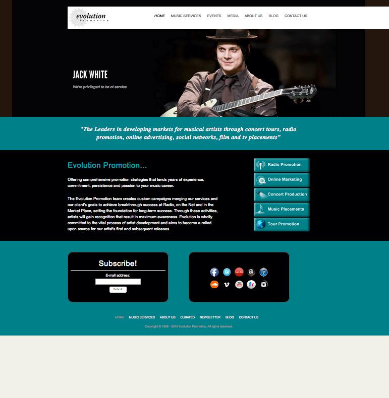 evolution promotion website